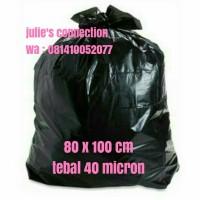 Kantong Plastik Sampah 80 x 100 cm, tebal 40 micron