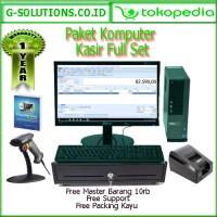 paket komputer kasir full set |paket kasir |program toko full set
