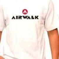 distro kaos t shirt tshirt baju fashion pria airwalk putih