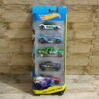 DIECAST HOT WHEELS OFF-ROAD THRILL RACERS GIFTPACK 5-PACK