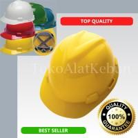 Helm Proyek & Lapangan / Alat Pelindung Kepala / Safety Helmed Kuning