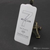 Jual Full Cover Tempered Glass 3D 4D Iphone 7/7 plus +/6/6s CLEAR [PREMIUM] Murah