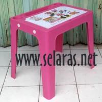 harga Meja Belajar Anak Plastik Warna Pink Tokopedia.com