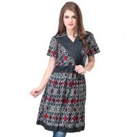 Dress / Atasan Wanita Motif Batik Trendy - SWI 607