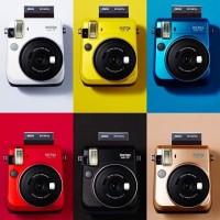 Jual Fujifilm Instax Mini 70 (Blue, Gold, Yellow, Red and White) Murah