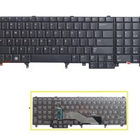 Dell Precision M4600 M6600 E5520 Laptop Keyboard-Non Backlight