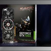 Vga Card nVidia Geforce GTX1060 6GB DDR5 U-TOP-6G-Triple Fan-One KeyOC