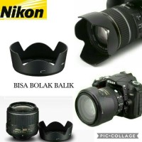 LENS HOOD 52mm HB 69 FOR NIKON LENSA 18-55