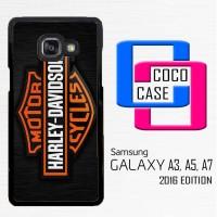 Casing Hp Samsung Galaxy A3,A5,A7 2016 Motor Harley Davidson Logo X435