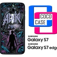 Casing Hp Samsung Galaxy S7 & S7 Edge Music A Day To Remember X4167