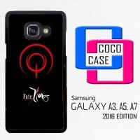 Casing Hp Samsung Galaxy A3,A5,A7 2016 Anime Fate Zero X4159
