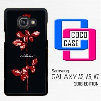 Casing Hp Samsung Galaxy A3,A5,A7 2016 Depeche Mode Violator X4141