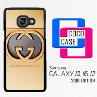 Casing Hp Samsung Galaxy A3, A5, A7 2016 Gucci Guilty gold X4430
