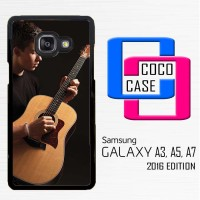 Casing Hp Samsung Galaxy A3,A5,A7 2016 Shawn Mendez Playing Guitar X44