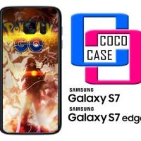 Casing Hp Samsung Galaxy S7 & S7 Edge Pokemon Go Wallpaper X4670