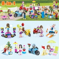Lego Friends SY 628 SY628 Taman Bermain 1 Set ( 8 Box )