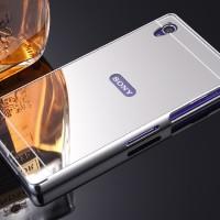 Sony Xperia Z / LTE MIRROR Metal Bumper Case Casing Hardcase Kesing