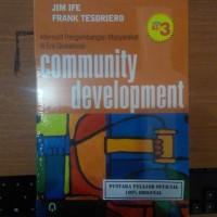 BUKU COMUNITY DEVRLOPMENT / JIM IFE & FRANK TESOIERO / PP