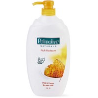 Palmolive Natural Milk & Honey Shower 1L / Sabun Mandi