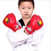 WOLON Taeki Gloves untuk Anak Boxing Sarung Tinju Kecil Full Glove MMA
