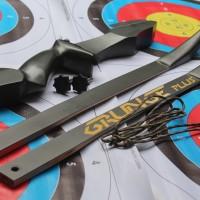 Laminasi Recurve Black Doff With Siyah (Archery / Bow ) /