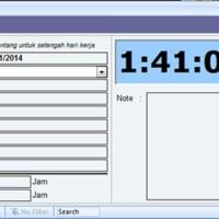 Absensi Aplikasi Gaji Karyawan Aplikasi Penggajian Payroll Software