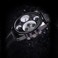 Jual Jual Oulm-9316 Dual Time Watch (Jam Tangan Dengan Penunjuk Waktu Murah