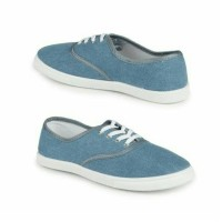 Jual SALE SEPATU/SNEAKERS/FLAT SHOES/SLIP ON RUBI WANITA DENIM ORIGINAL Murah