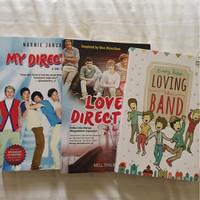 Jual Buku novel one direction, loving the band, love direction Murah