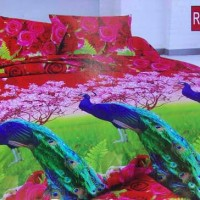 SPREI BONITA DISPERSE 3D ROSE MERAK NO 1