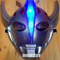 Topeng Mask Ultraman Taro Dengan Lampu Terang Keren anak pasti suka