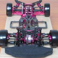 Jual Rc drift Kit sakura D4 AWD Carbon full Hop up alu aluminium bisa RWD Murah