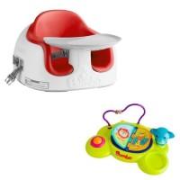 Bumbo Multi Seat with Playtop Safari - Red