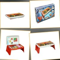 Meja Lipat Anak / Lap Desk / Meja Gambar Anak Merk Napolly Spiderman