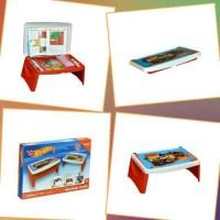 Meja Lipat Anak / Lap Desk / Meja Gambar Anak Merk Napolly Hot Wheels