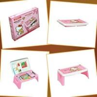 Jual Meja Lipat Anak / Lap Desk / Meja Gambar Anak Merk Napolly Hello Kitty Murah