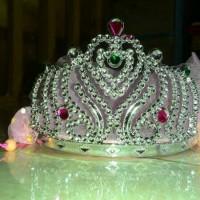 Jual mahkota crown, bridal shower, flower, princess, mahkota anak disney Murah