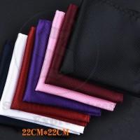 saku tangan saku jas / pocket square polyester import sse fashion