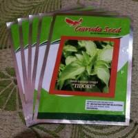 Benih Bibit Unggul Daun Kemangi TIDORE Garuda Seed, kemasan asli