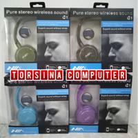 HEADSET NIA BLUETOOTH Q1 EXTRA BASS
