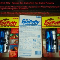 ALTECO EPO PUTTY 2 PART ADHESIVE 100 GR LEM DODOL SERBA GUNA