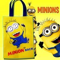 Goodie Bag Tas Belanja Minion Wadah Ulang Tahun Papoy Minions Disney U