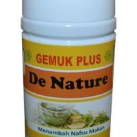 Gemuk Plus Herbal De Nature Indonesia Penggemuk Badan