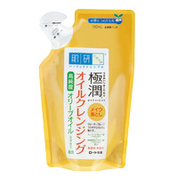 Hada Labo Gokujyun cleansing olive oil refill