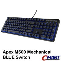 SteelSeries Apex M500 Mechanical Pro Gaming Keyboard Blue Switch 64575