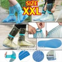 Rain Shoes Cover Jas Hujan Sepatu Anti Air (setinggi boots) SIZE XXL