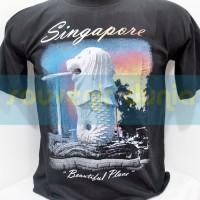 SOUVENIR KAOS DARI SINGAPURA