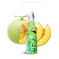 Hata Ramune Melon [Minuman Soda Tutup Kelereng Rasa Melon]