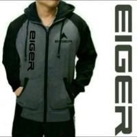 Jual jaket zipper sweater jumper hoodie EIGER terbaru Murah