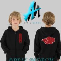 Jaket Sweater Anak Akatsuki Logo - April Merch